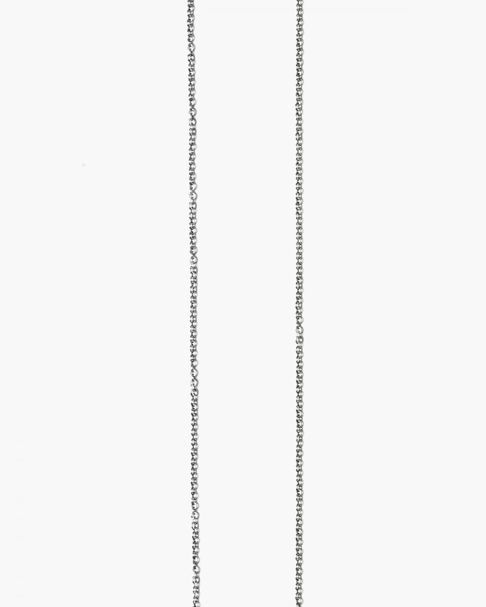 bruenierte kabel ketten halskette 040