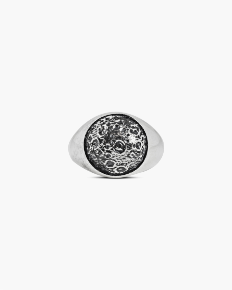 MOON SIGNET RING