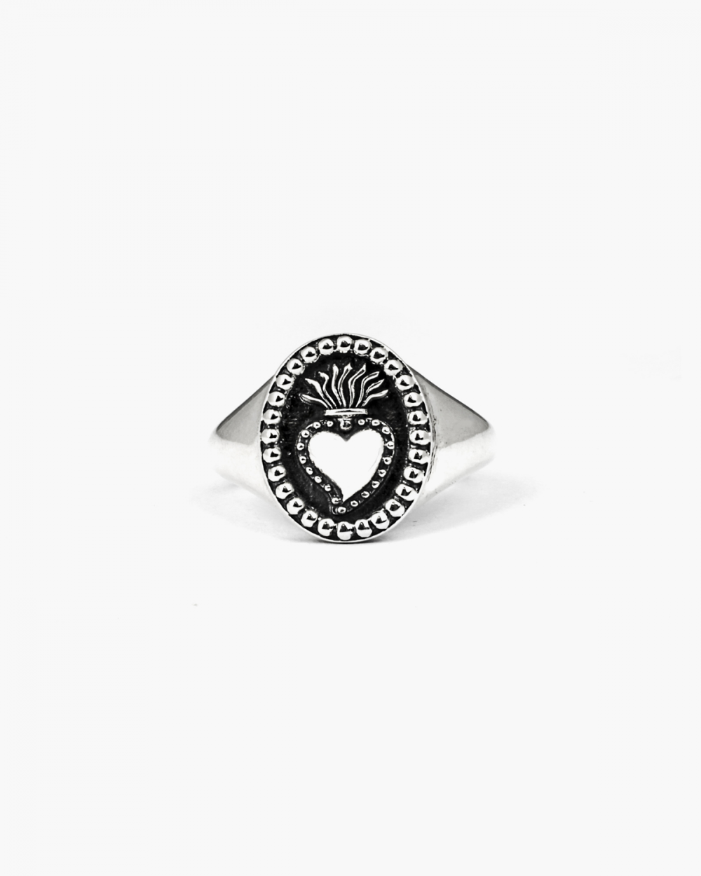 Rings EX VOTO OVAL SIGNET RING NOVE25