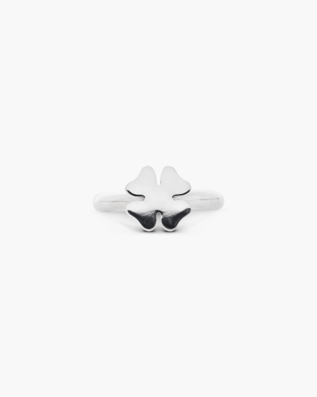 LUCKY CLOVER SOLITAIRE RING