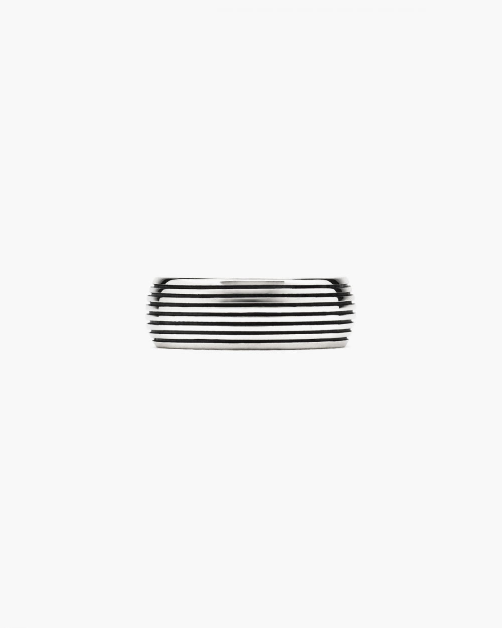 Rings STRIPED BAND RING NOVE25