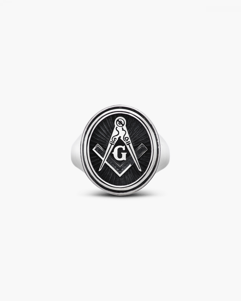 Archive Sale GOD OR GEOMETRY SIGNET RING NOVE25