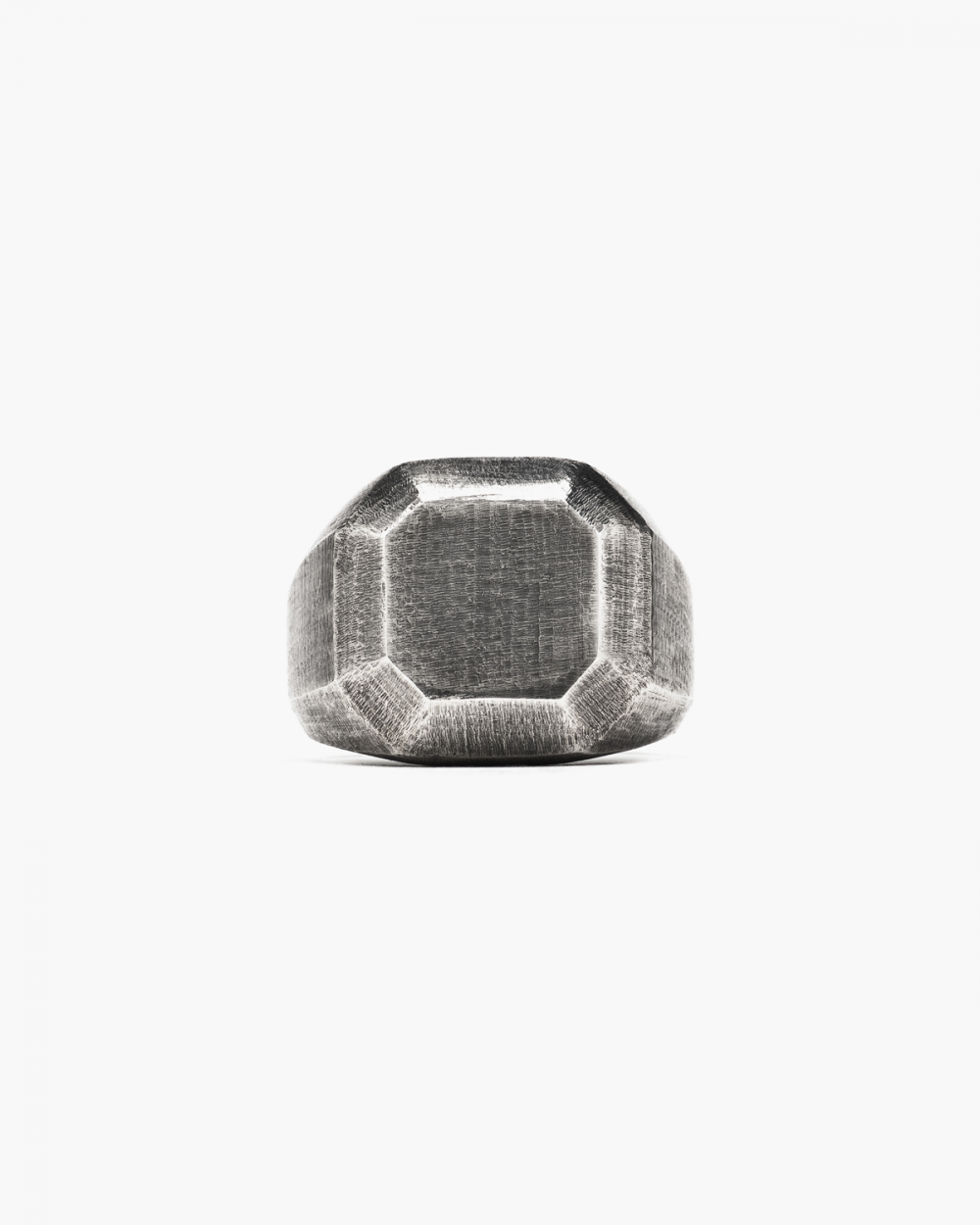 Archive Sale ANTIQUED OCTAGONAL RING NOVE25