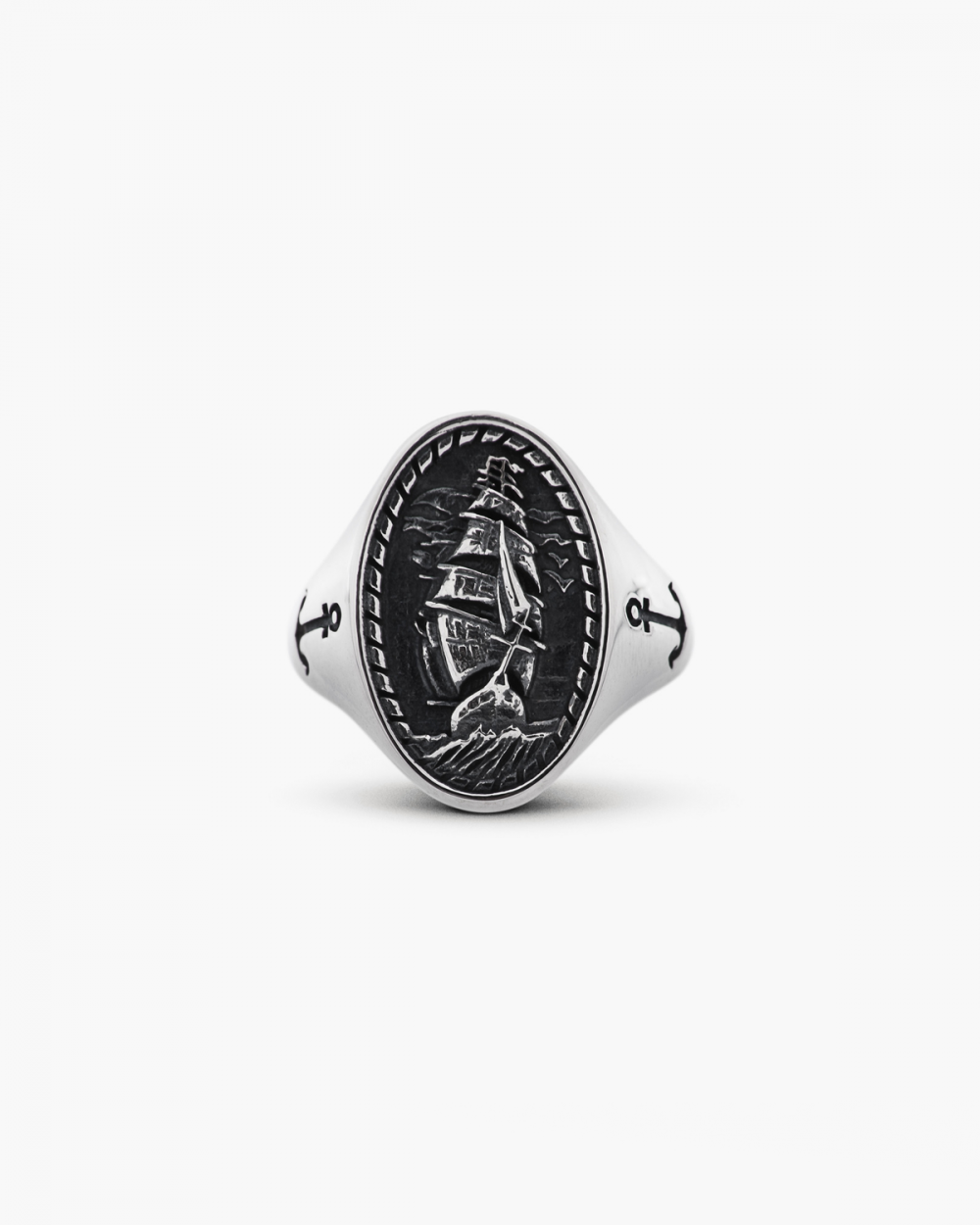 Rings SAILING SHIP SIGNET RING NOVE25