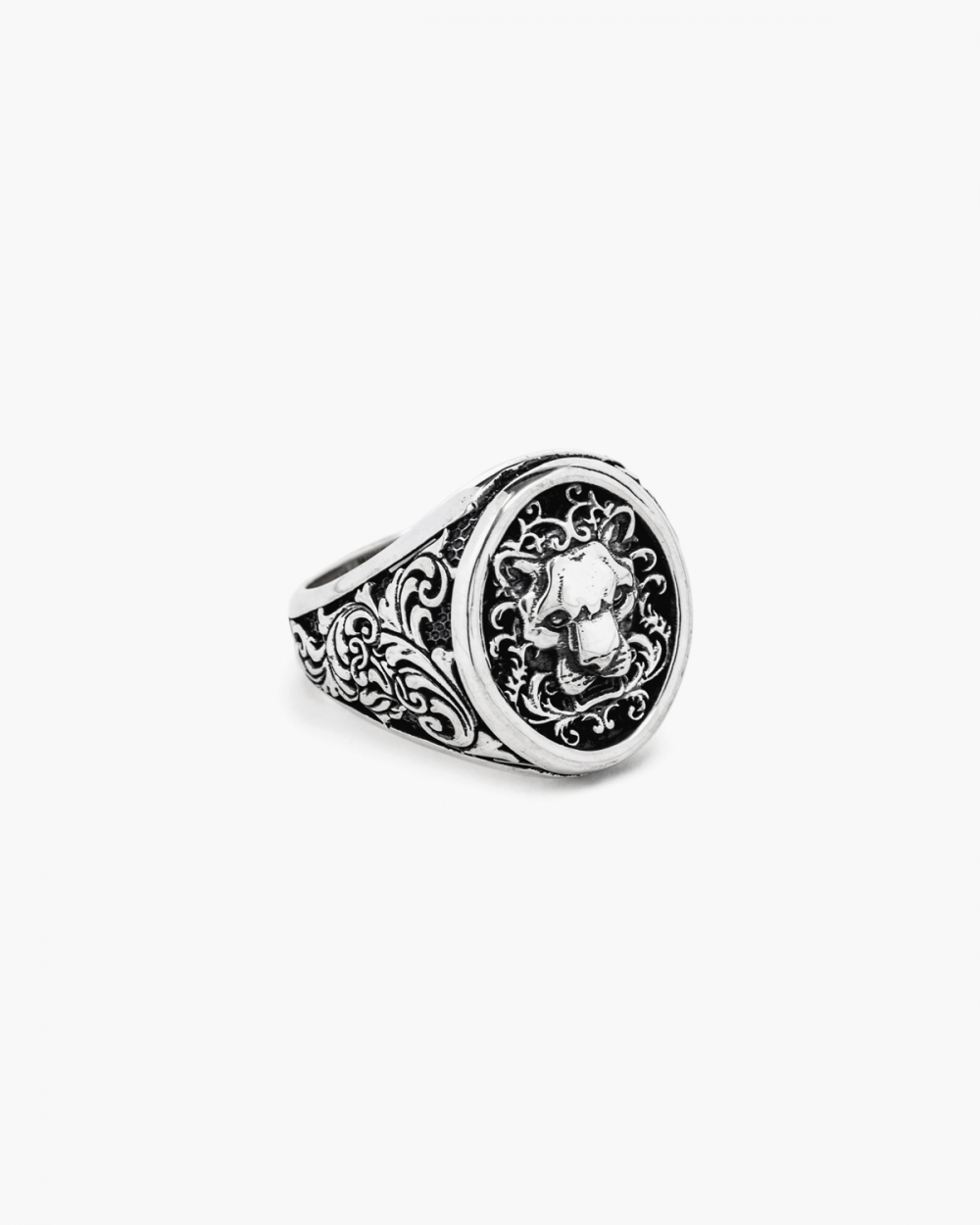 Archive Sale HERALDIC PANTHER SIGNET RING NOVE25