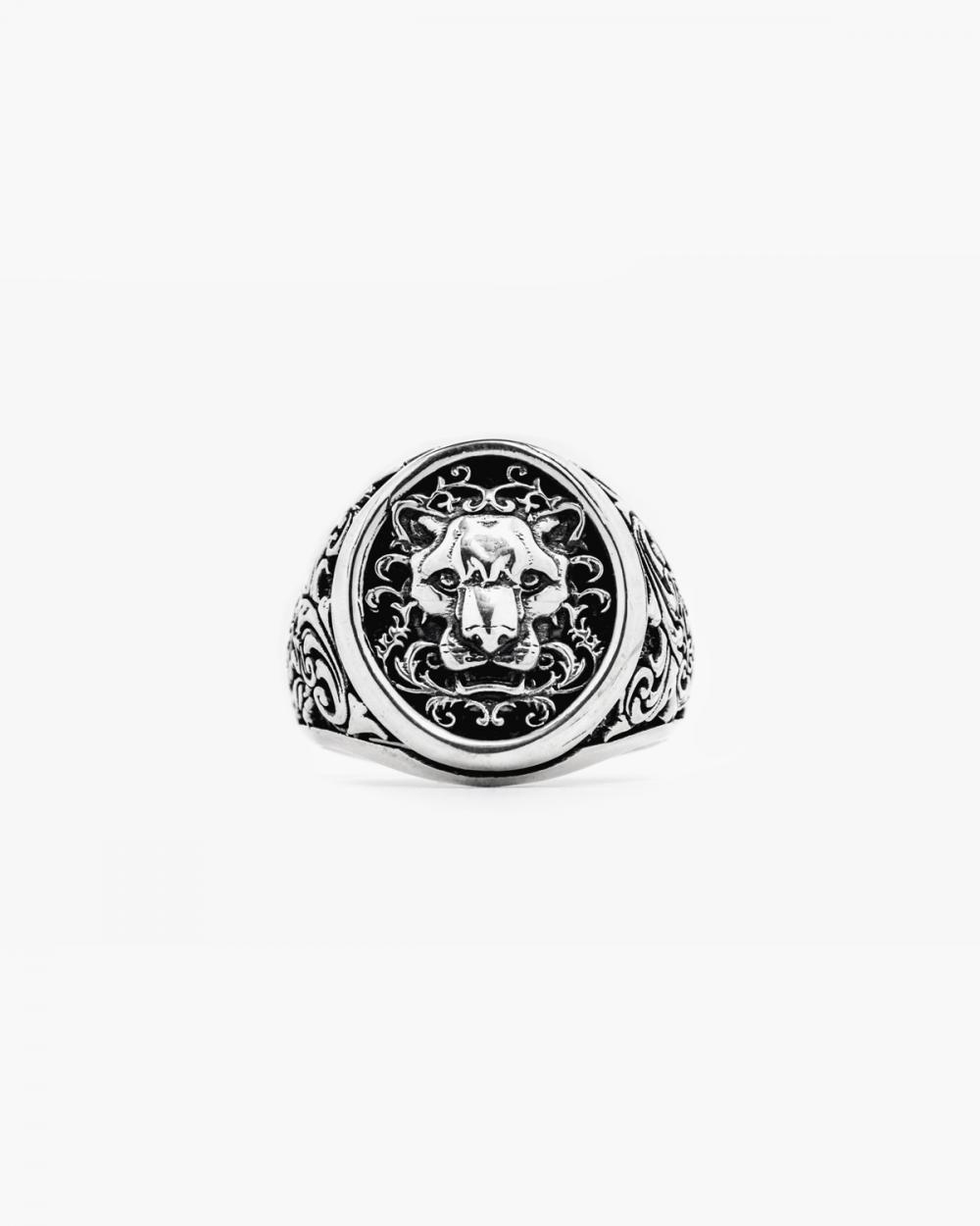Rings HERALDIC PANTHER SIGNET RING NOVE25