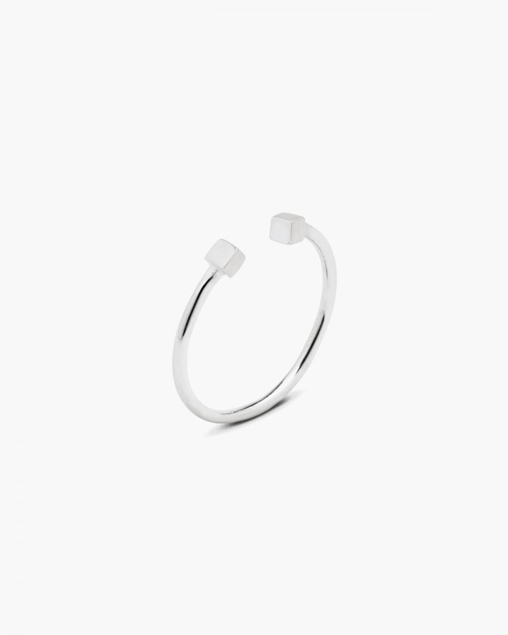 Rings CUBES PIERCING RING NOVE25
