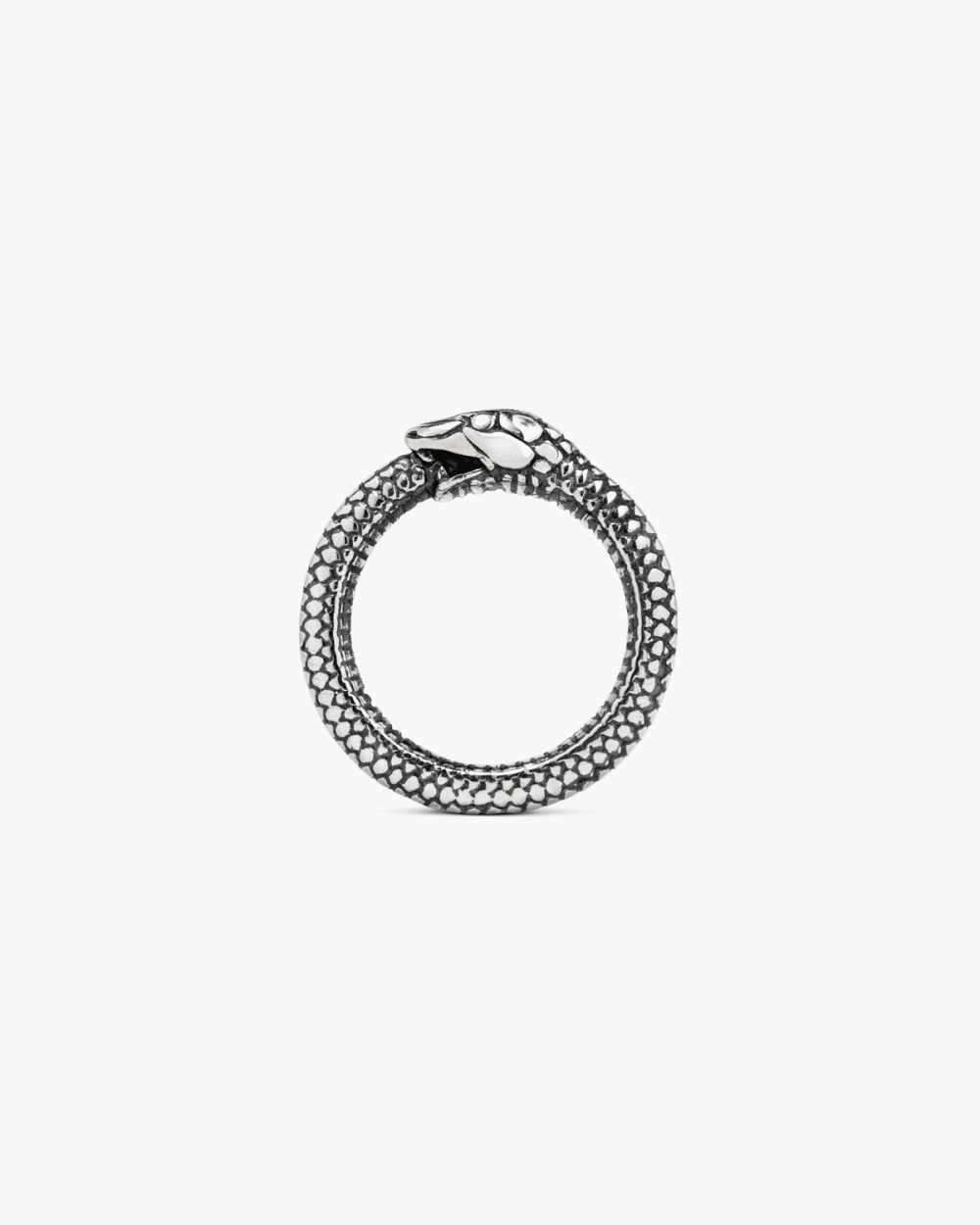 Rings SILVER OUROBOROS RING NOVE25