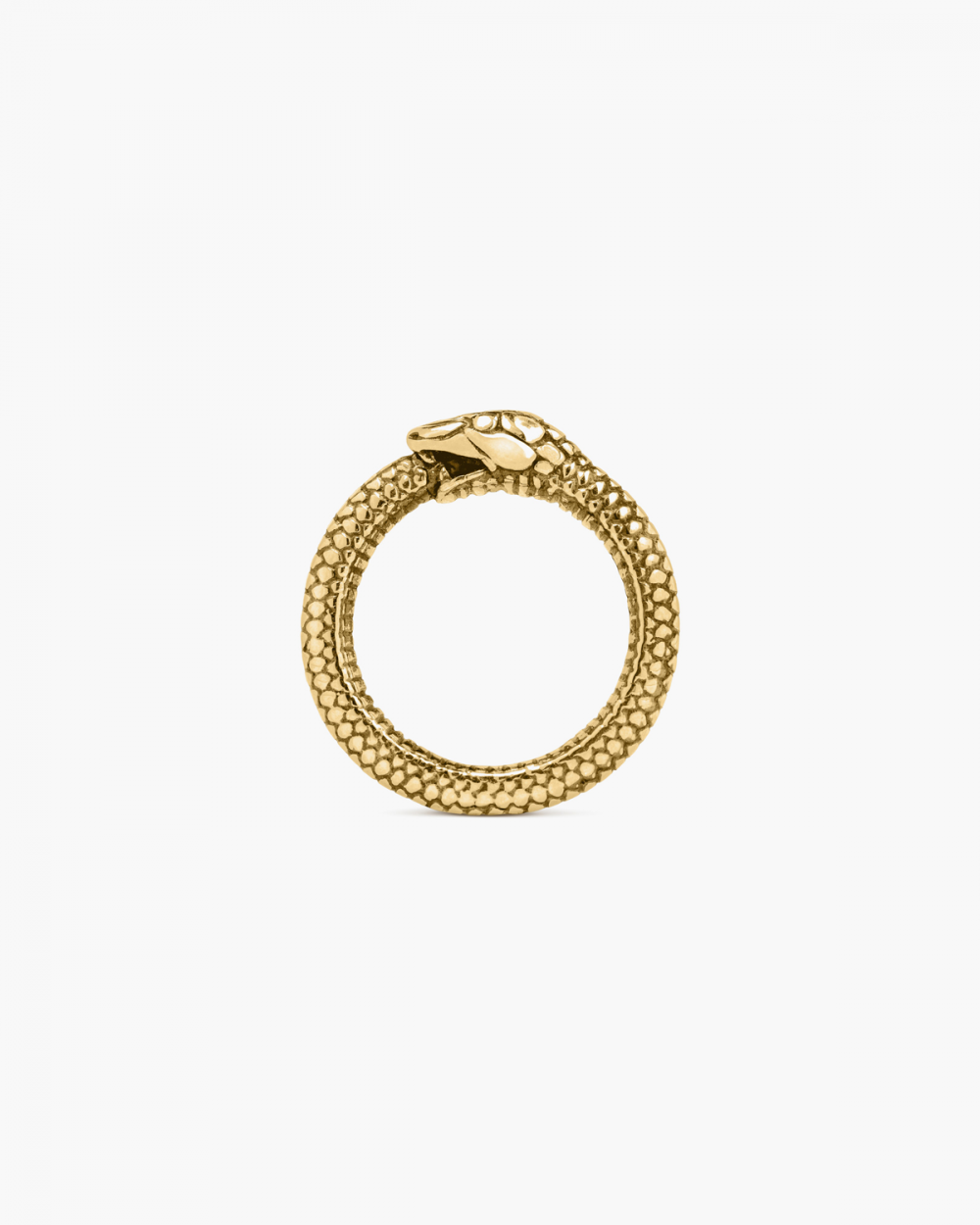 Rings YELLOW GOLD OUROBOROS RING NOVE25