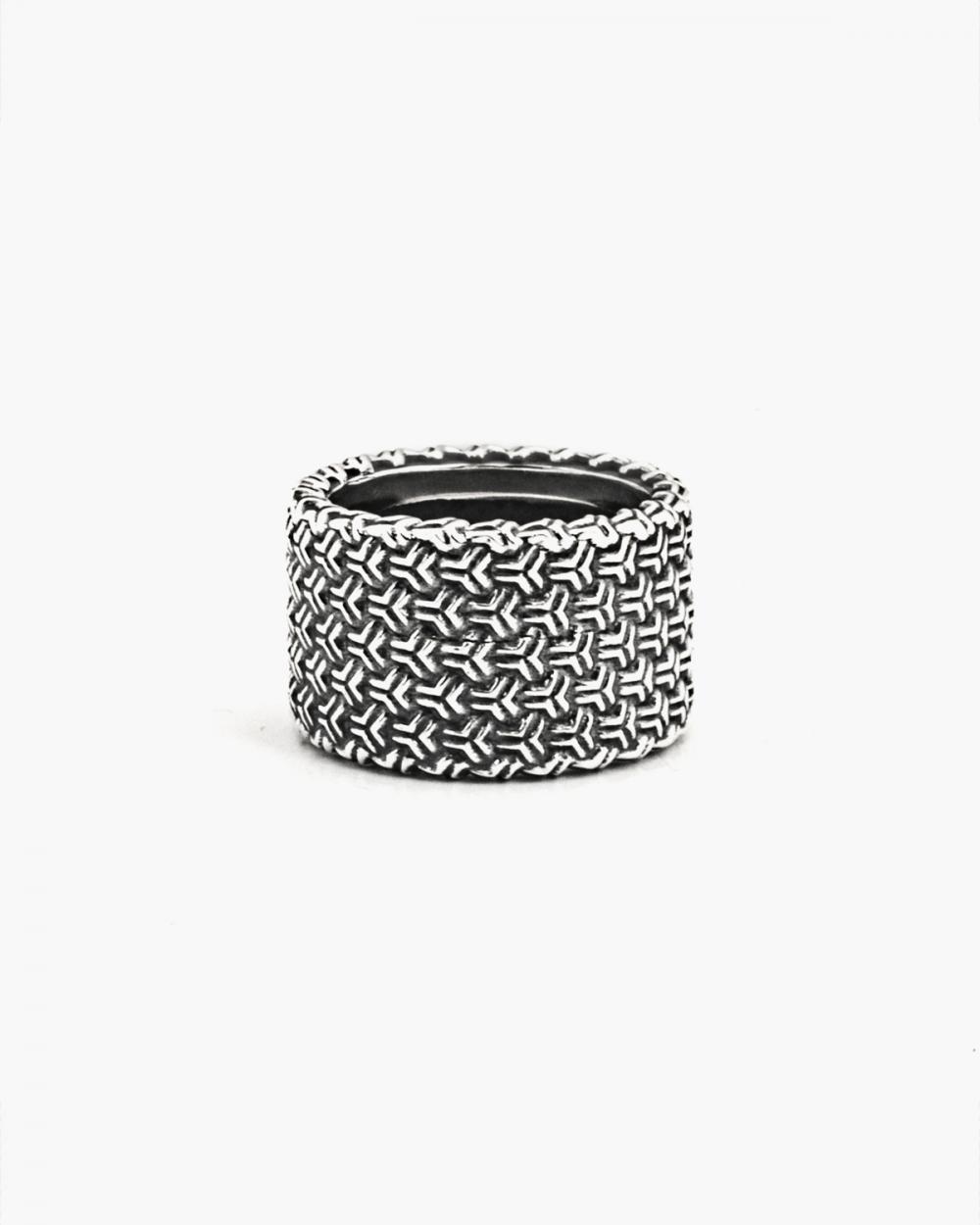 Rings 3D TEXTURE BAND RING NOVE25