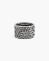3d texture band ring