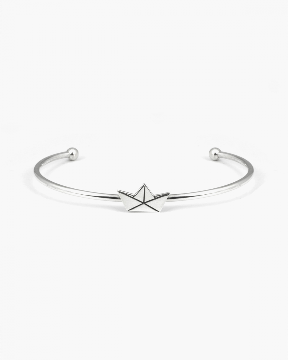 Bracelets ORIGAMI BOAT BANGLE NOVE25