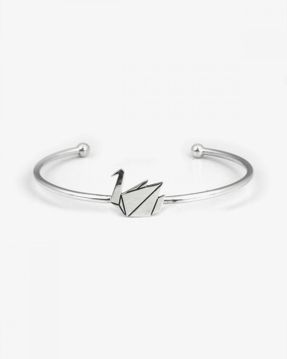 Bracelets ORIGAMI SWAN BANGLE NOVE25