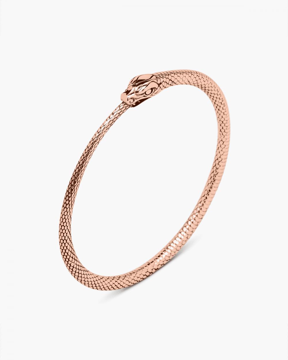 Bracelets PINK GOLD OUROBOROS BRACELET NOVE25