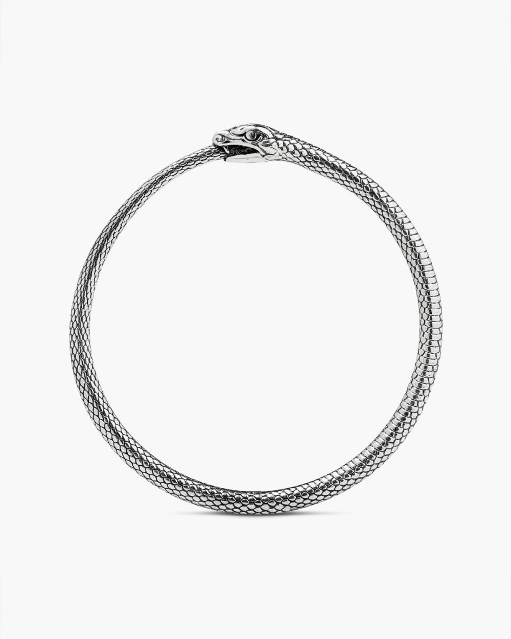 Bracelets SILVER OUROBOROS BRACELET NOVE25