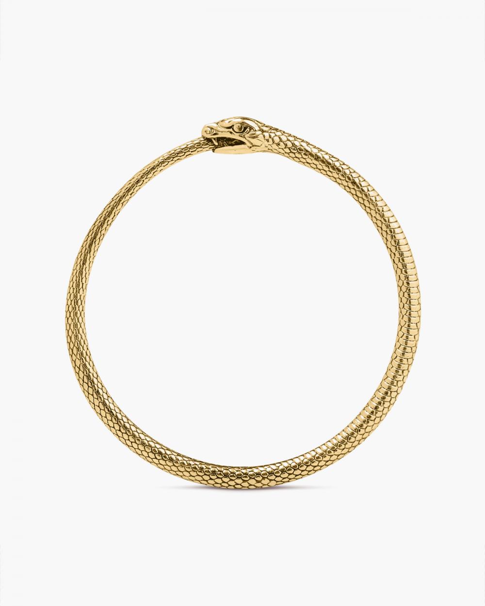 Bracelets YELLOW GOLD OUROBOROS BRACELET NOVE25
