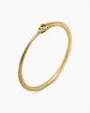 yellow gold ouroborus bracelet