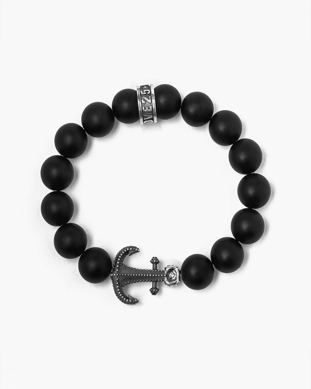 Bracelets ONYX & ANCHOR BRACELET NOVE25