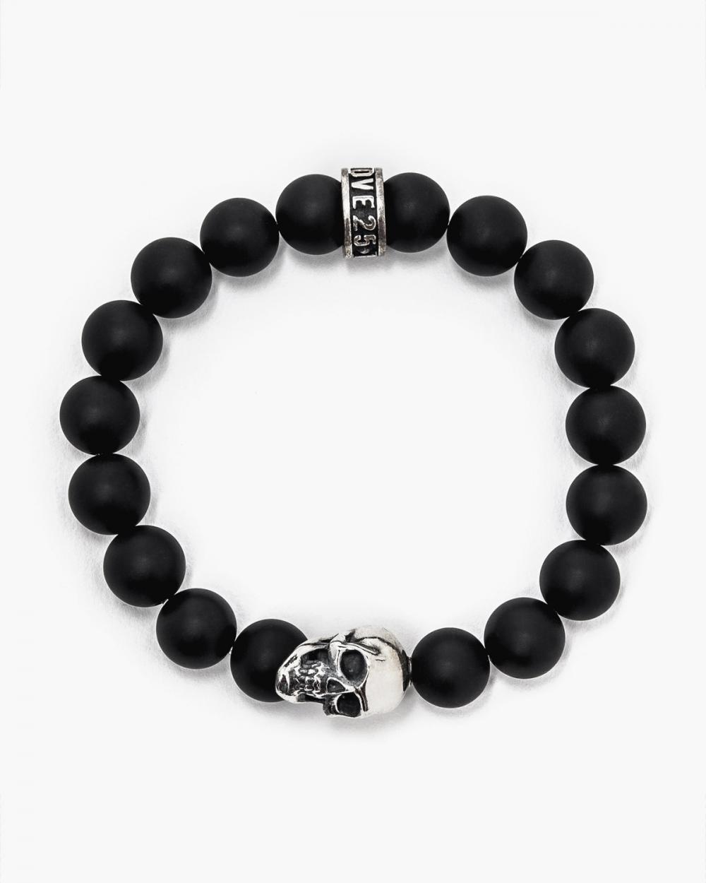 Bracelets ONYX & BIG SKULL BRACELET NOVE25