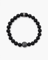 onyx basket ball bracelet