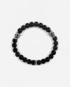double kolima skulls onyx bracelet