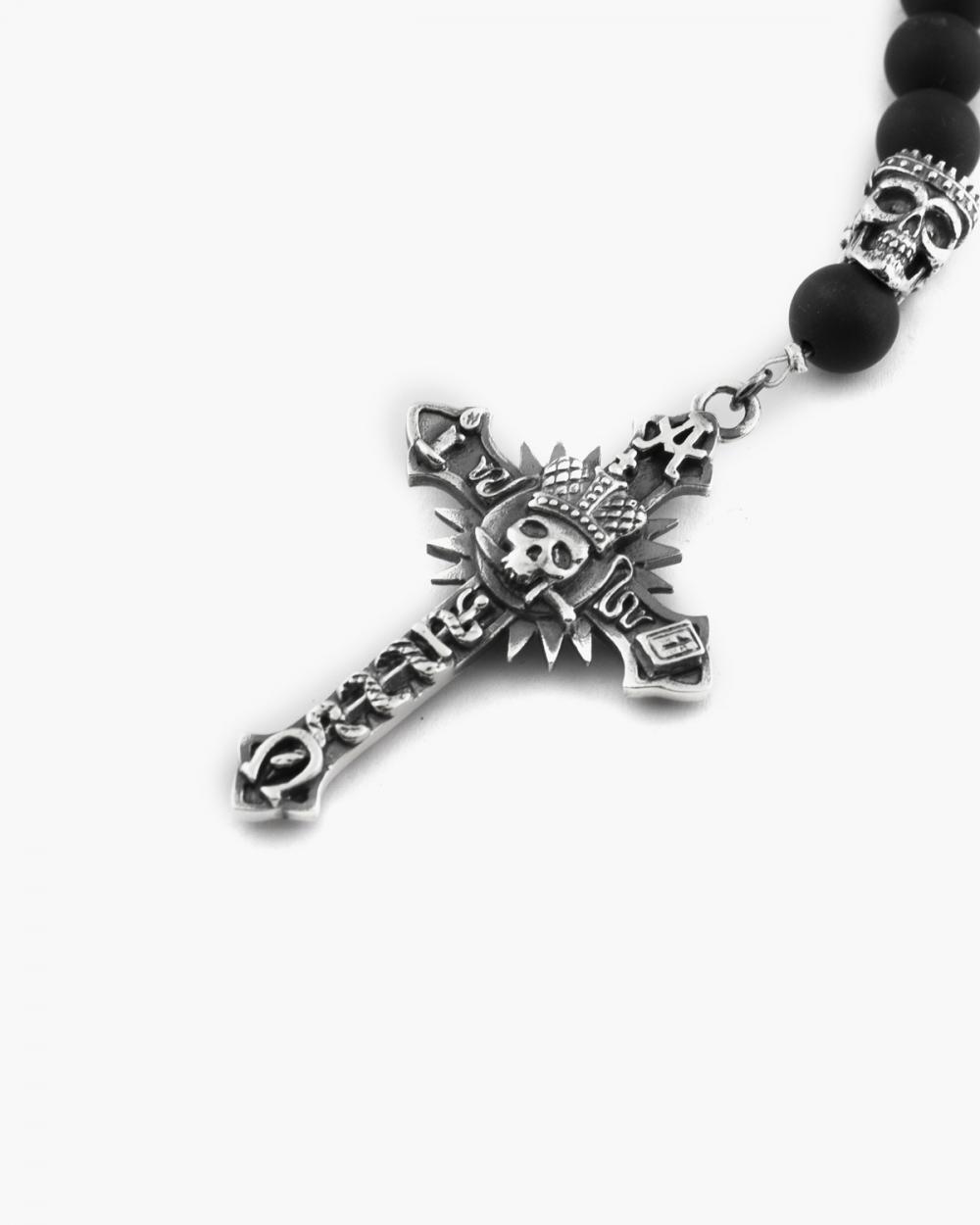 Necklaces ONYX KOLIMA ROSARY NOVE25