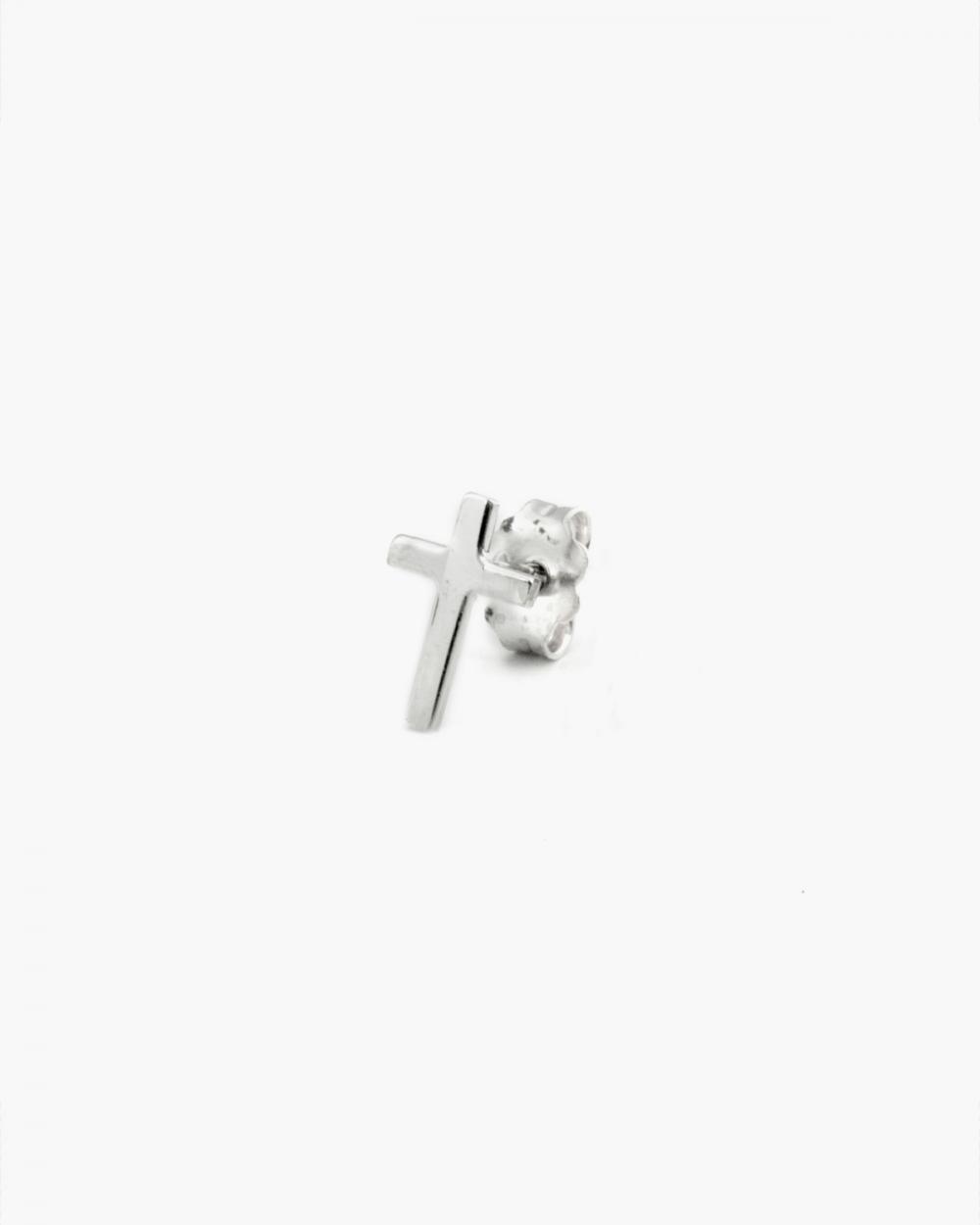 Earrings BASIC CROSS SINGLE EARRING NOVE25