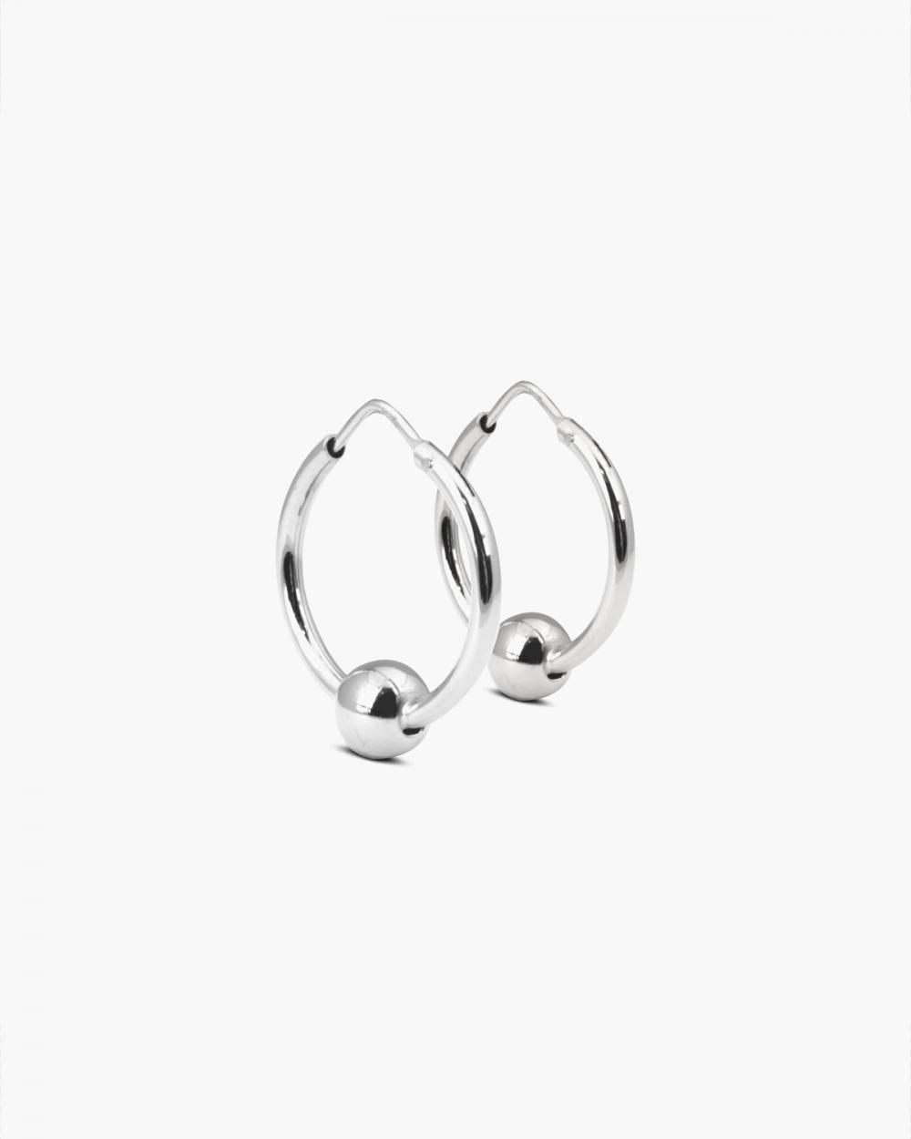 Earrings SILVER SPHERES PIERCING PAIR EARRINGS NOVE25