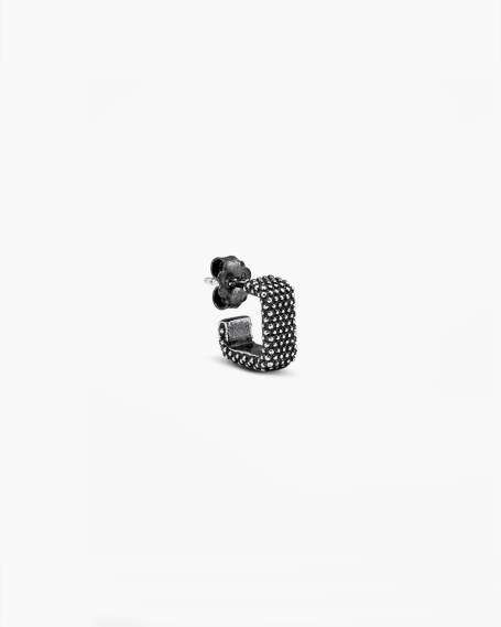 DOTTED SQUARE THREAD SINGLE EARRING