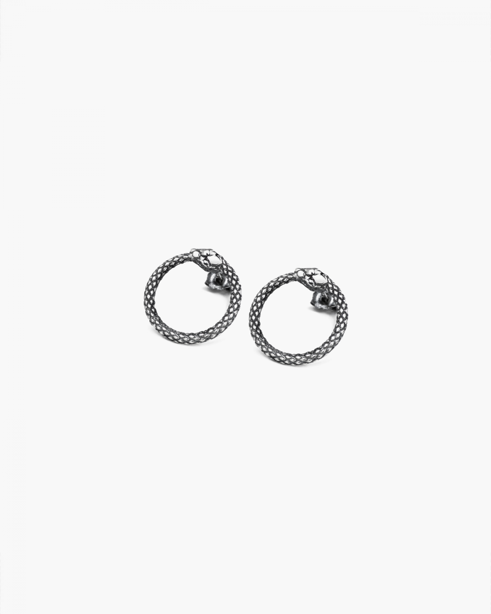 Earrings SILVER OUROBOROS PAIR EARRINGS NOVE25