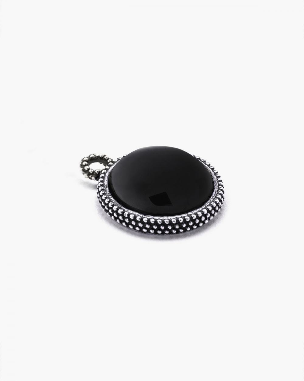 Pendants DOTTED ROUND ONYX PENDANT NOVE25