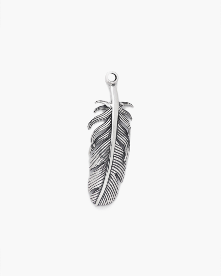 FEATHER BIG PENDANT