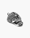 big maya crystal skull pendant
