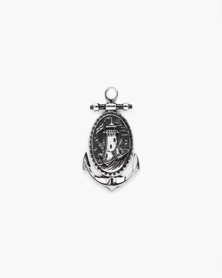 ANCHOR & LIGHTHOUSE PENDANT