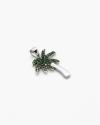 pendente palma zirconata verde