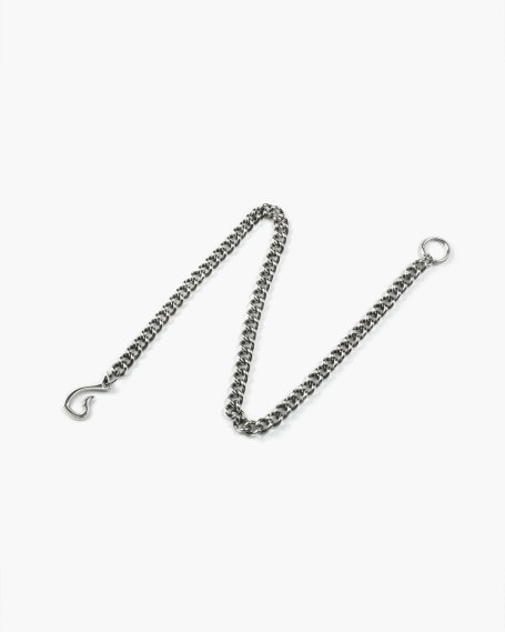 BURNISHED CURB WALLET CHAIN
