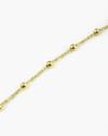cavigliera minirosario oro giallo