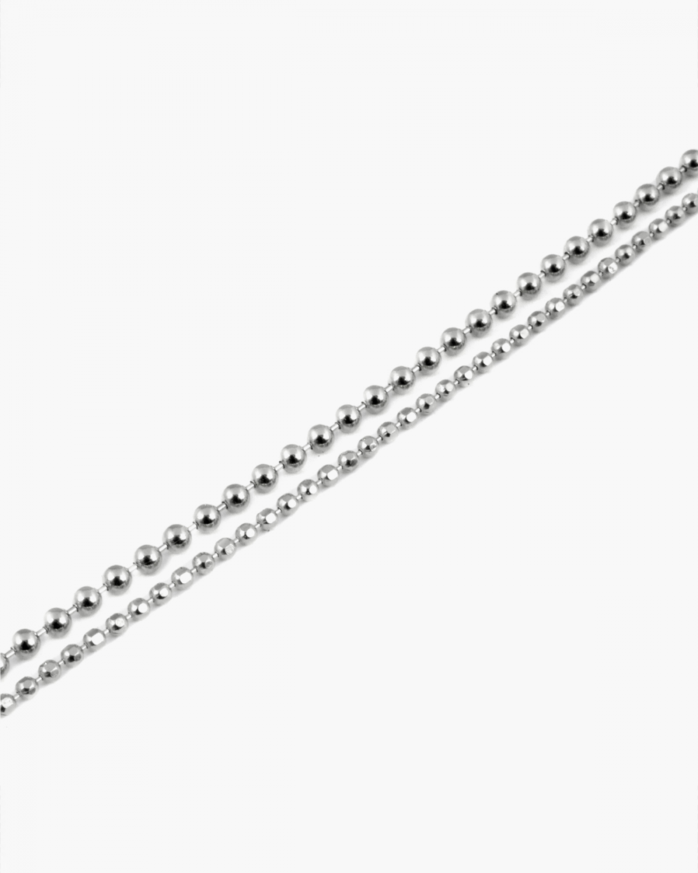 Anklets TWO LAYERS SPHERES ANKLET NOVE25