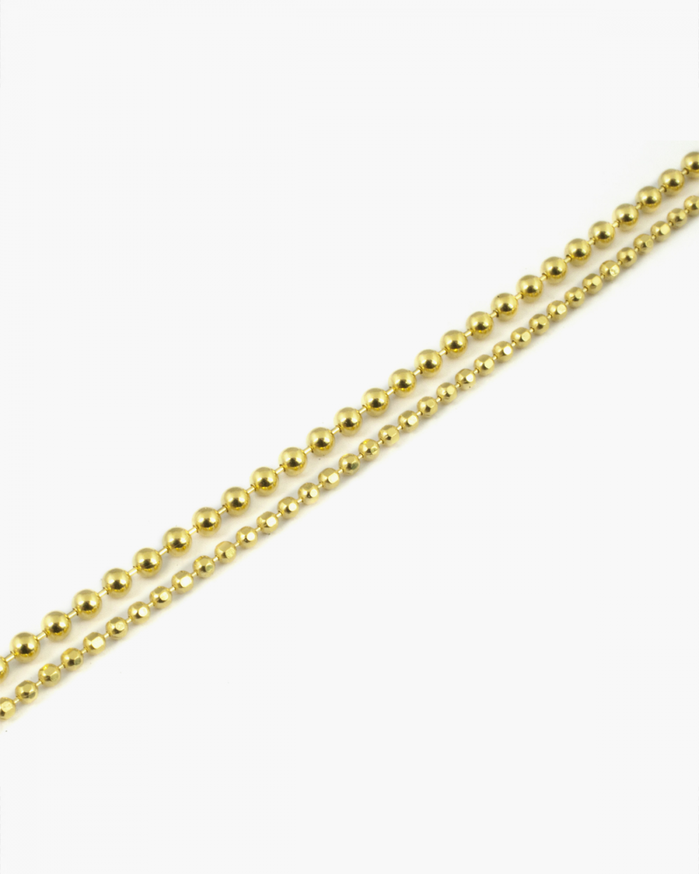 Anklets YELLOW GOLD DOUBLE LAYER ANKLET NOVE25