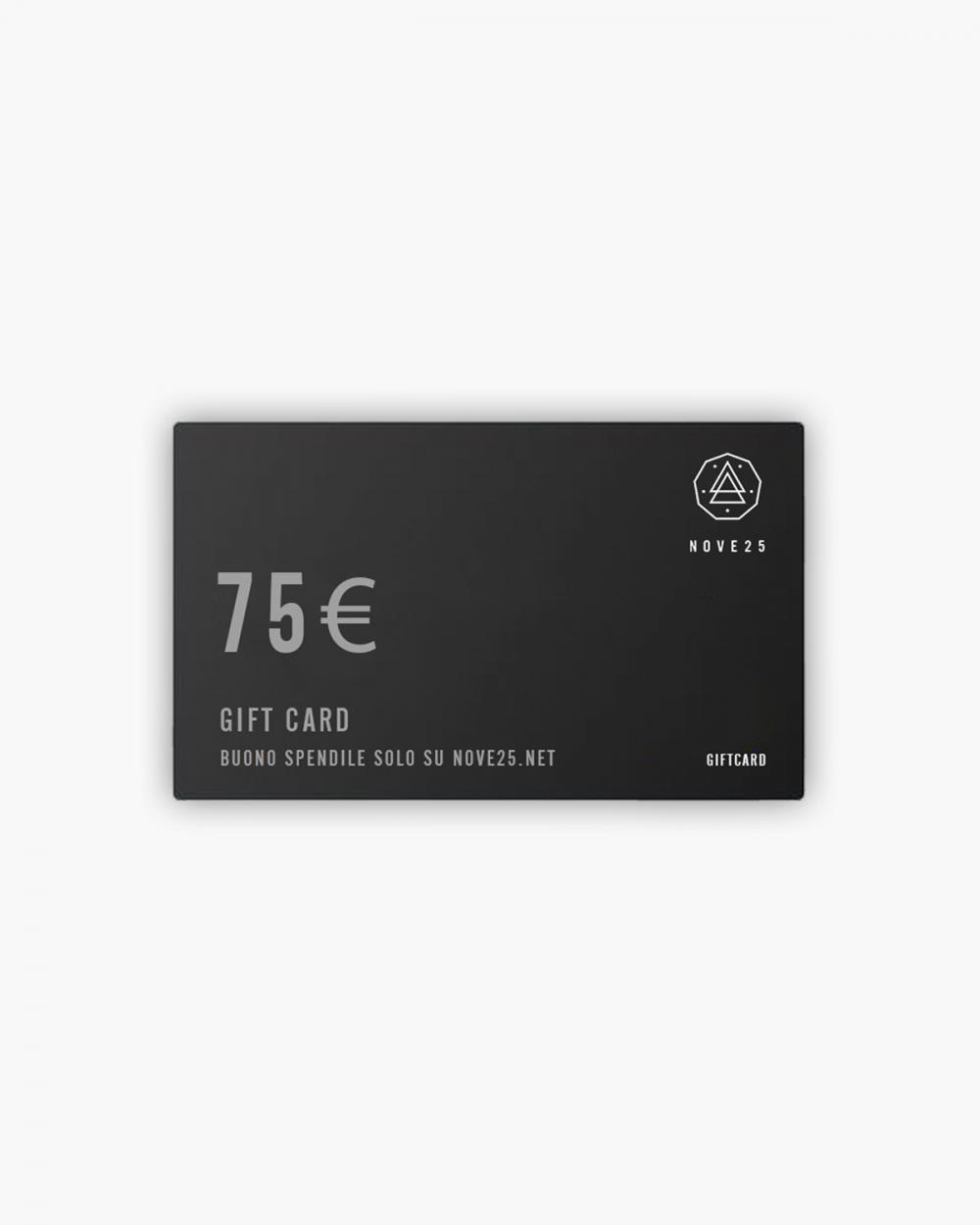Accessori Gift Card 75€ NOVE25