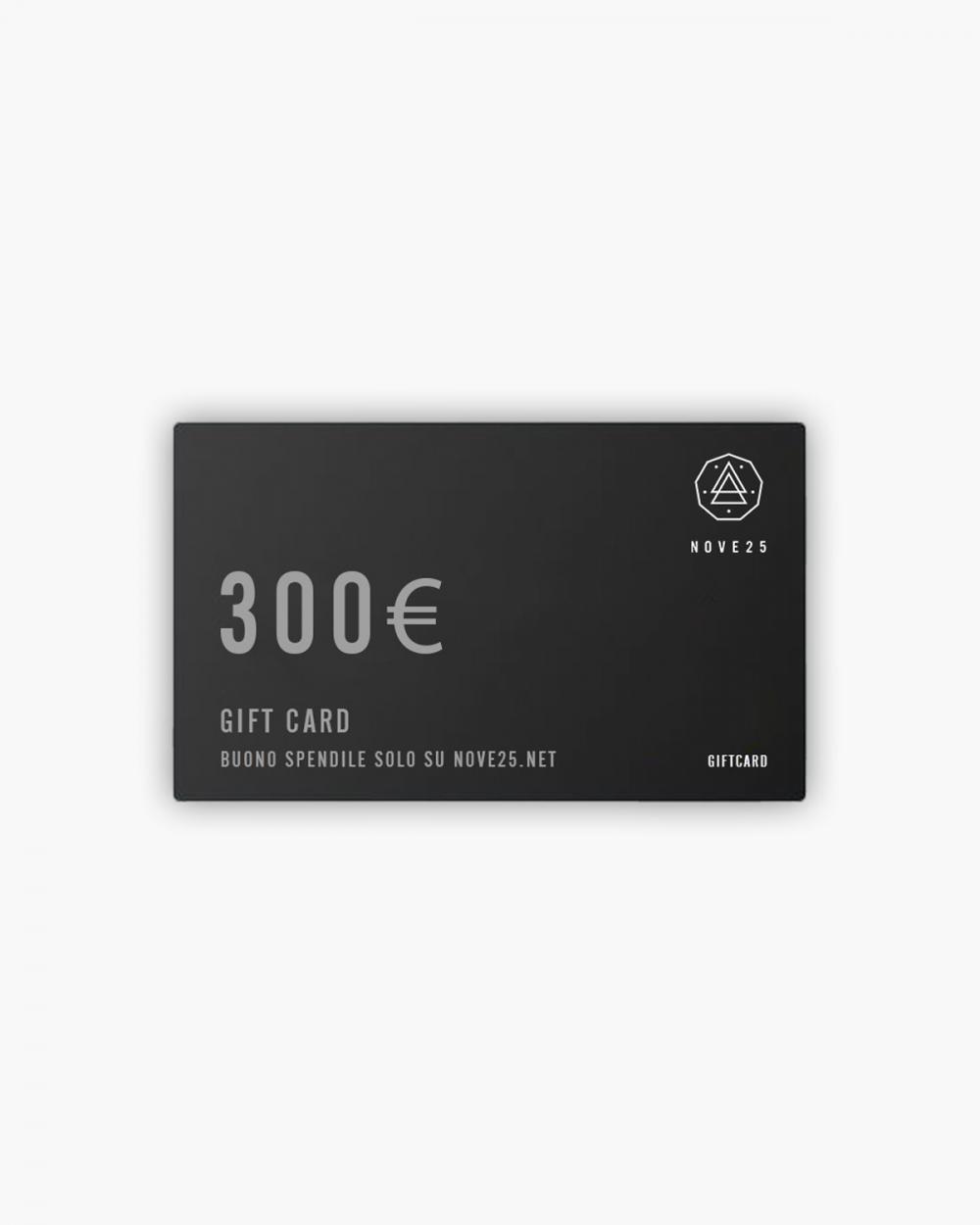 Accessori Gift Card 300€ NOVE25