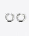 orecchini coppia cerchio a ponte filo tondo 5 argento