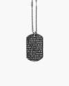 juventus army data necklace