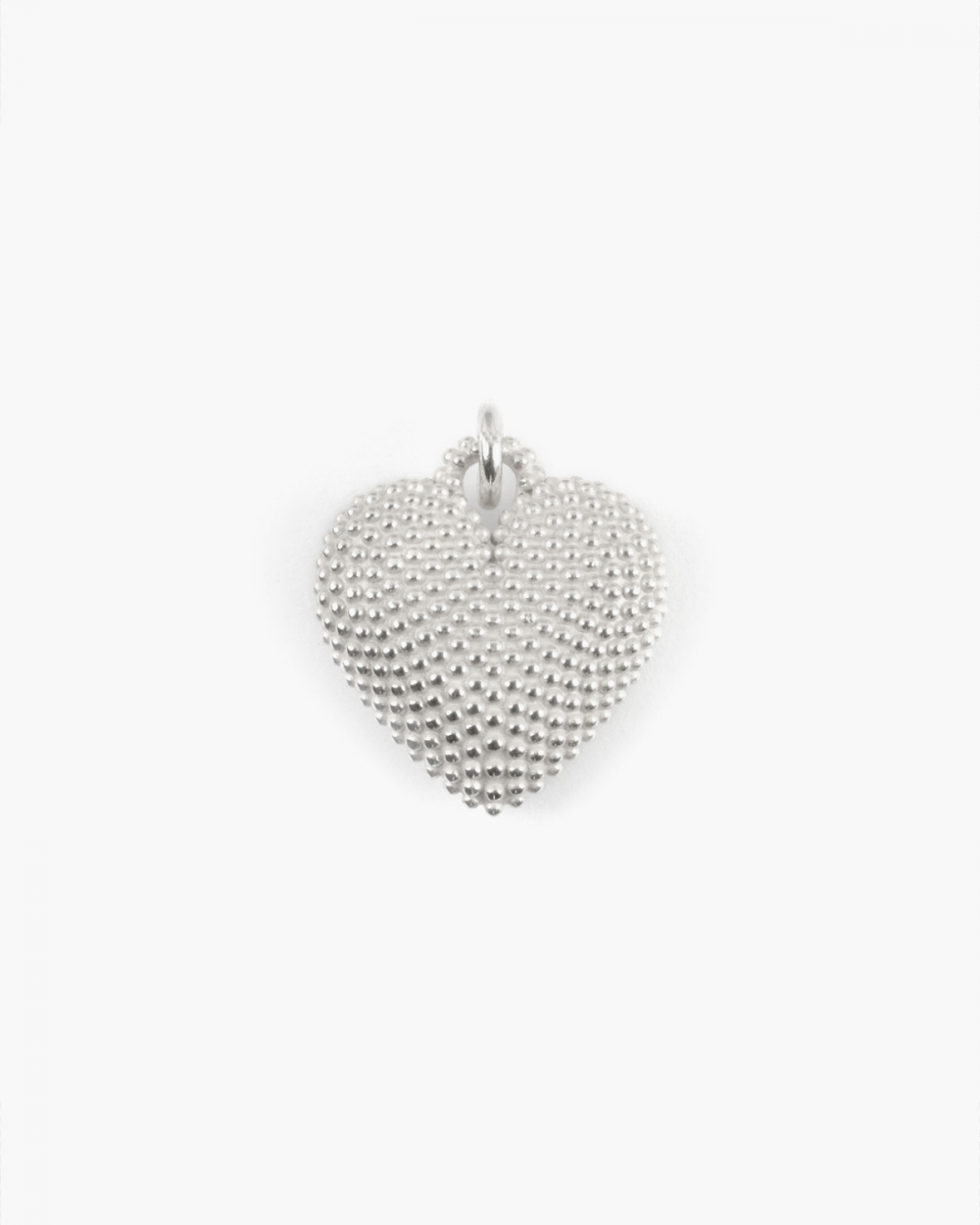 Necklaces WHITE FULL HEART DOTTED PENDANT NECKLACE NOVE25