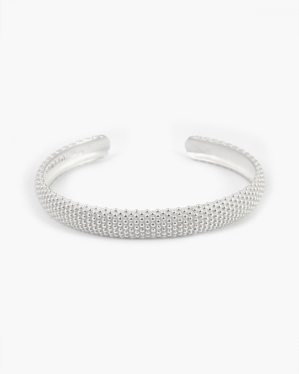 Bracelets WHITE DOTTED BANGLE NOVE25