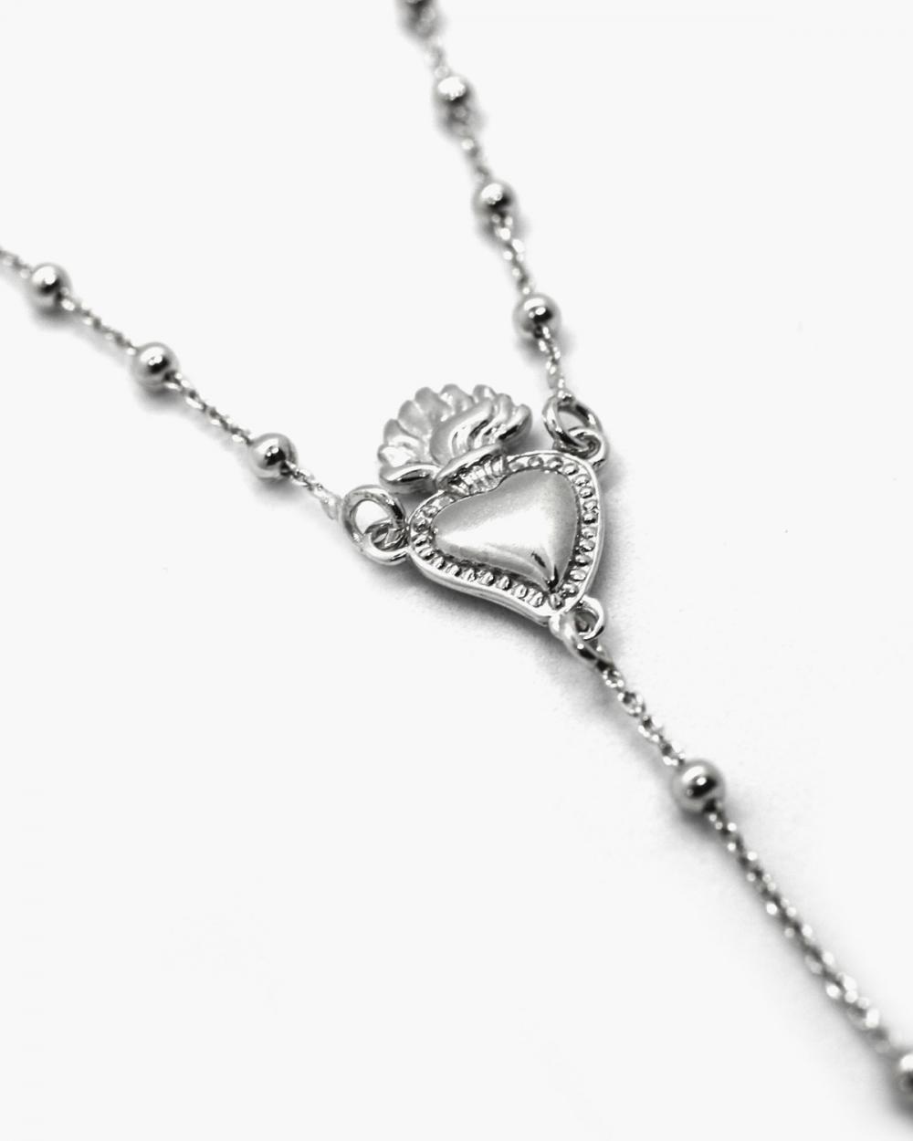 Necklaces EX-VOTO & GOTHIC CROSS ROSARY NOVE25