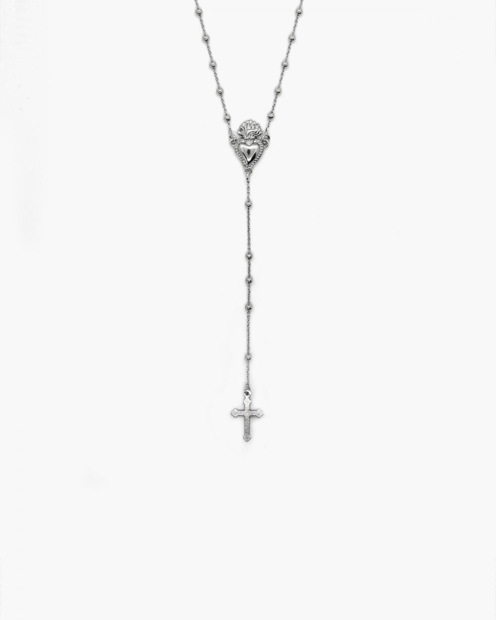 Rosary EX-VOTO & GOTHIC CROSS ROSARY NOVE25