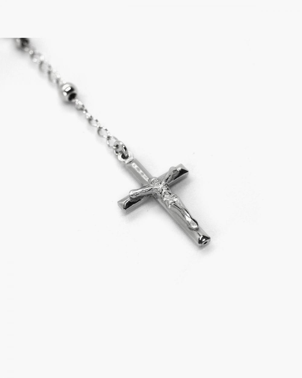 Necklaces CRUCIFIX DOTS ROSARY NOVE25