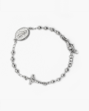 virgin mary and crucifix rosary bracelet