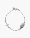 ex voto and gothic cross rosary bracelet